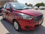 Foto venta Auto usado Ford Figo Sedan Titanium Aut (2018) color Rojo Rubi precio $204,000