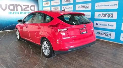 Ford Focus Hatchback SE usado (2016) color Rojo financiado en mensualidades(enganche $74,070 mensualidades desde $7,807)