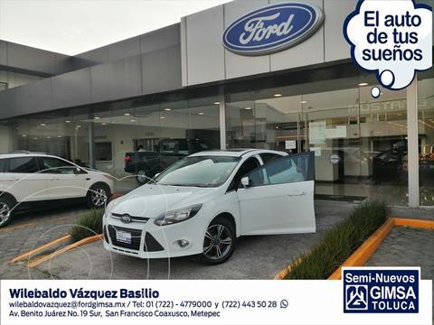 Ford Focus Hatchback Trend Sport Aut usado (2014) color Blanco precio $135,000