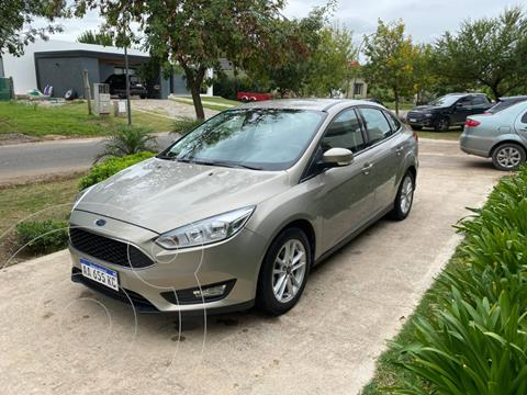 Ford Focus One 5P 1.6 Edge usado (2016) color Dorado precio $1.450.000