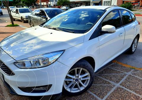 Ford Focus Sedan 1.6L S usado (2017) color Blanco precio $1.550.000
