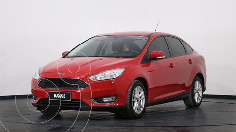 Ford Focus Sedan 2.0L SE usado (2016) color Rojo Bari precio $1.630.000