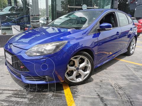 Ford Focus ST 2.0L usado (2014) color Azul financiado en mensualidades(enganche $90,000 mensualidades desde $6,900)