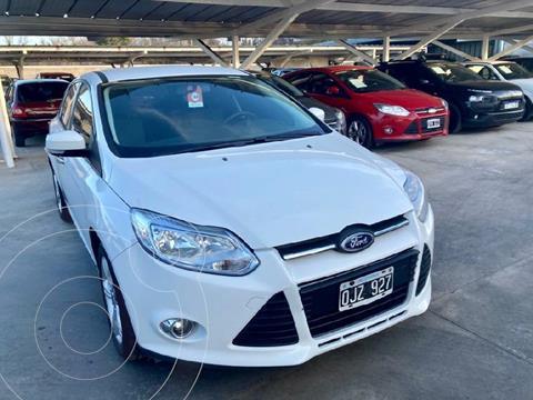 Ford Focus 5P 1.6 S usado (2014) color Blanco precio $1.230.000