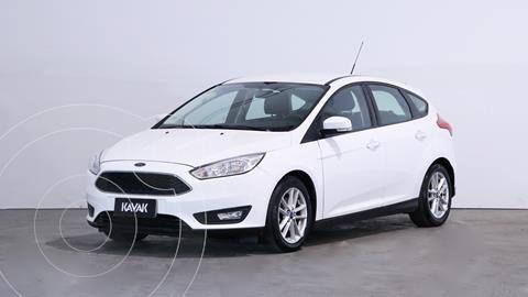 Ford Focus 5P 1.6L S usado (2016) color Blanco Oxford precio $1.780.000