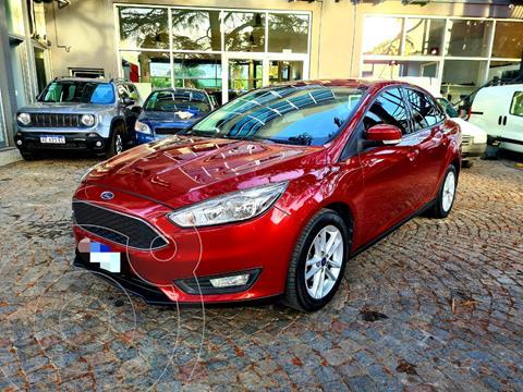 Ford Focus 5P 1.6L S usado (2017) color Rojo Bari precio $1.620.000