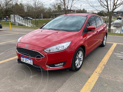 Ford Focus 5P 2.0L SE usado (2016) color Rojo precio $1.790.000