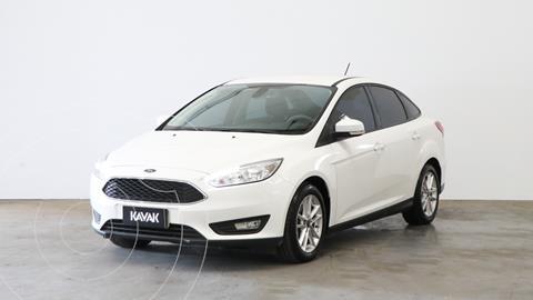 Ford Focus 5P 1.6L S usado (2018) color Blanco Oxford precio $1.740.000