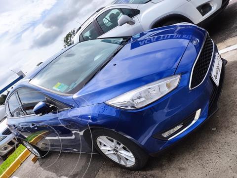 Ford Focus 5P 2.0L Titanium usado (2017) color Azul Aurora precio $1.598.000