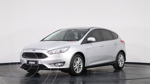 Ford Focus 5P 1.6L S usado (2017) color Plata precio $1.770.000