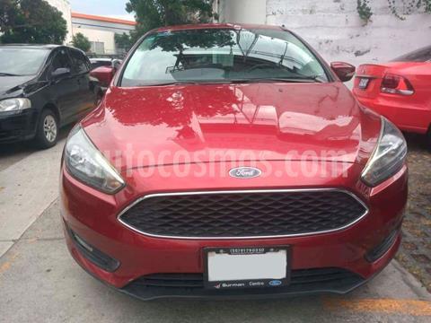 Ford Focus SE Luxury Aut usado (2016) color Rojo precio $179,000
