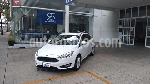 Ford Focus SE TA 4 PTAS usado (2017) color Blanco precio $240,000