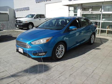 Ford Focus SE TA 4 PTAS usado (2016) color Azul Electrico precio $185,000