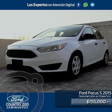 Ford Focus S usado (2015) color Blanco precio $155,000