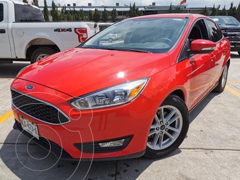 Ford Focus SE Aut usado (2017) color Rojo Racing precio $274,000