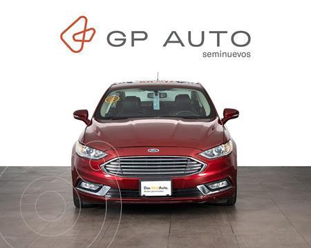 foto Ford Focus SE Aut usado (2018) color Rojo precio $372,000