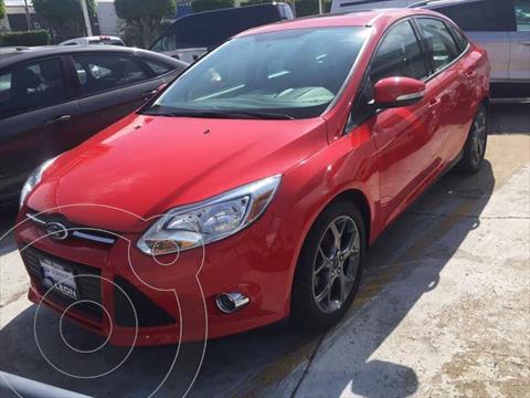 Ford Focus 4P SE PLUS AUT usado (2013) color Rojo precio $199,000