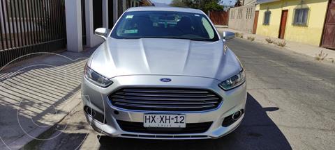 Ford Fusion 2.5L SE Aut usado (2016) color Plata precio $14.000.000