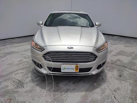 Ford Fusion 2.0L Titanium usado (2015) color Plata precio $58.990.000