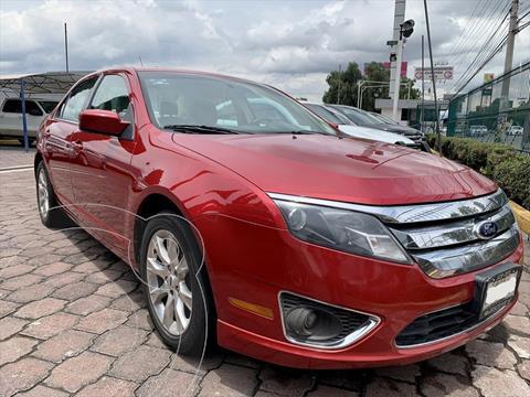 Ford Fusion 3.0 SEL V6 PIEL AT usado (2012) color Rojo precio $135,000