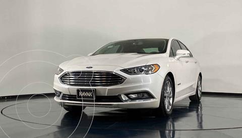 Ford Fusion SE LUX Hibrido usado (2017) color Blanco precio $338,999