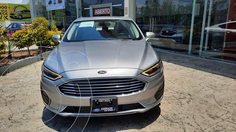 Ford Fusion SE LUX Hibrido usado (2020) color Plata Dorado precio $599,000