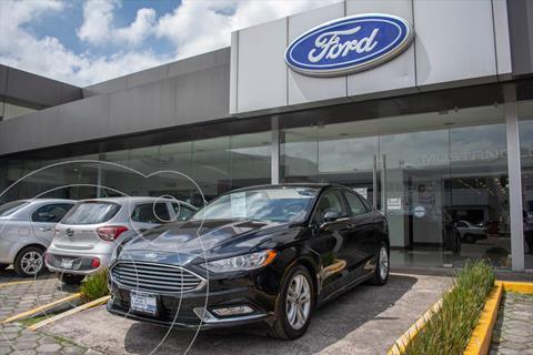 Ford Fusion SE LUX Hibrido usado (2018) color Negro precio $402,000