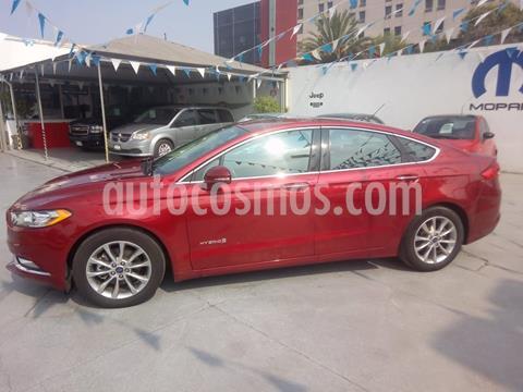 Ford Fusion SE Hibrido usado (2017) color Rojo precio $320,000