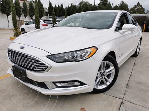 Ford Fusion SE LUX Hibrido usado (2018) color Blanco Oxford precio $430,000