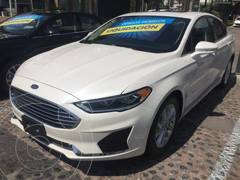 Ford Fusion SEL Hibrido usado (2020) color Blanco Platinado precio $600,000