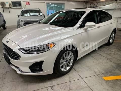 Ford Fusion SE Hibrido usado (2019) color Blanco precio $578,000