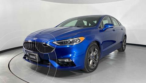 Ford Fusion SE Aut usado (2018) color Azul precio $419,999