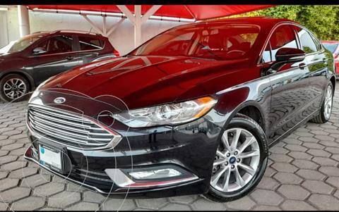 Ford Fusion SE Advance usado (2017) color Negro Profundo precio $299,000