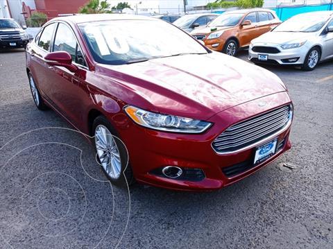 Ford Fusion SE Luxury usado (2016) color Rojo precio $230,000