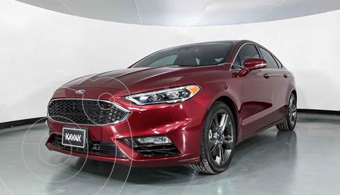 Ford Fusion SE Aut usado (2018) color Rojo precio $429,999