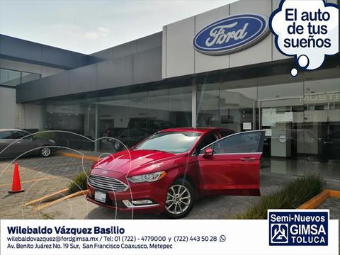 Ford Fusion SE Advance usado (2017) color Rojo precio $267,000