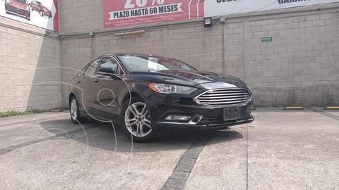 Ford Fusion SE Luxury Plus usado (2018) color Negro precio $398,000