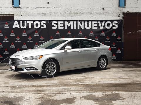 Ford Fusion SE LUX Hibrido usado (2017) color Plata precio $315,000