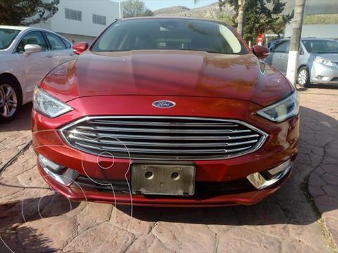 Ford Fusion Titanium usado (2018) color Rojo precio $339,000
