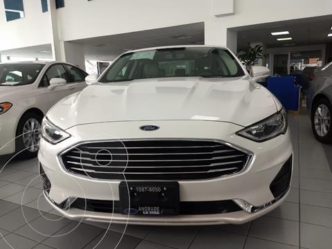 foto Ford Fusion SE LUX Híbrido usado (2020) color Blanco precio $590,000