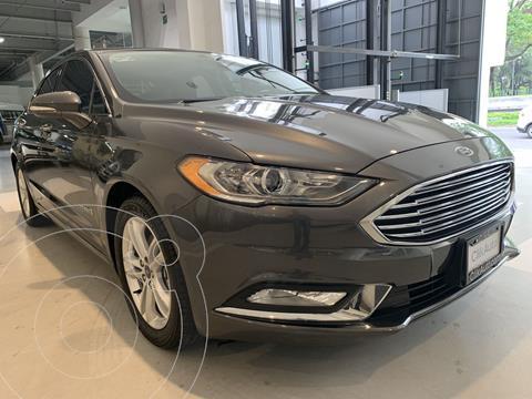Ford Fusion SE Hibrido usado (2018) color Gris precio $386,000