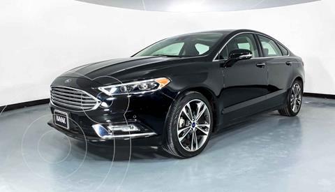 Ford Fusion SE Aut usado (2018) color Negro precio $322,999