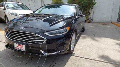 Ford Fusion SE LUX Hibrido usado (2019) color Negro precio $429,000