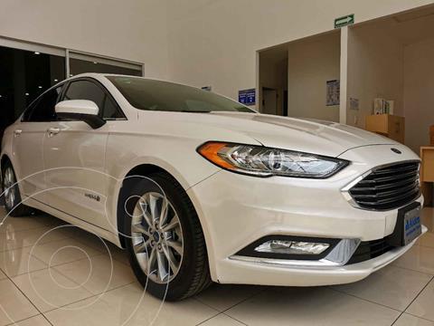 Ford Fusion SE Hibrido usado (2017) color Blanco precio $283,000