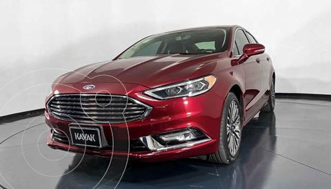 Ford Fusion SE Aut usado (2018) color Rojo precio $312,999