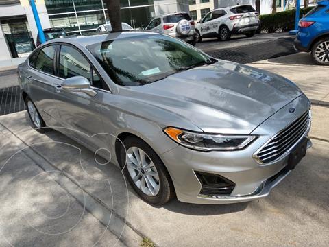 Ford Fusion SEL Hibrido usado (2020) color Plata Estelar precio $595,000