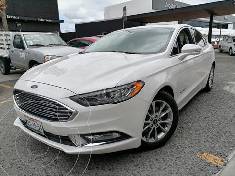 Ford Fusion SE LUX Hibrido usado (2017) color Blanco Oxford precio $354,000