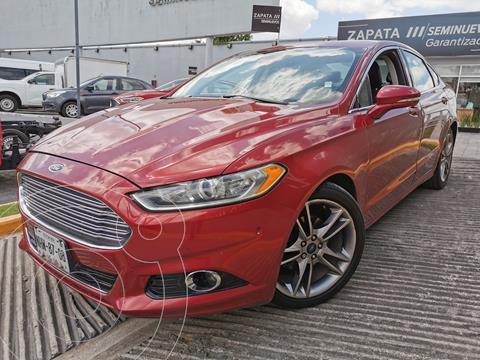 Ford Fusion Titanium usado (2016) color Rojo Rubi precio $265,000