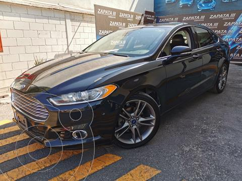 Ford Fusion Titanium usado (2016) color Negro Profundo precio $250,000