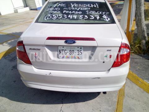Ford Fusion SE Aut usado (2010) color Blanco precio $82,000
